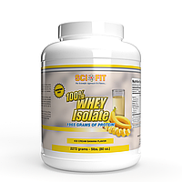 Протеин - Изолят сывороточного протеина - SciFit 100% Whey Isolate / 2272 g Banana