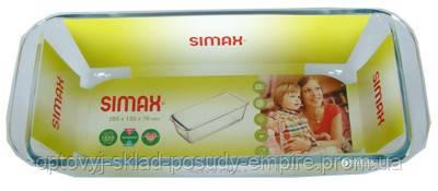Форма скляна для випікання прямокутна Simax 7256