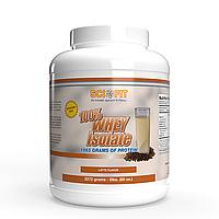 Протеин - Изолят сывороточного протеина - SciFit 100% Whey Isolate / 2272 g Latte