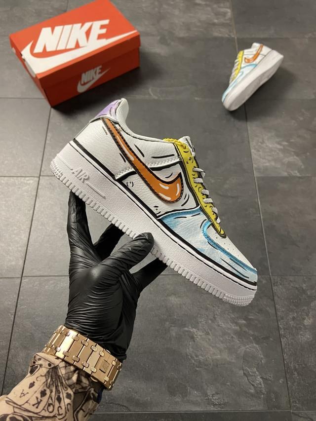 Жіночі кросівки Nike Air Force 1 Low Comics Verd фото