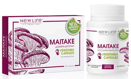 Maitake (Майтаке) растительные капсулы - онкопротектор, иммуномодулятор, снижение веса, усталость, фото 2