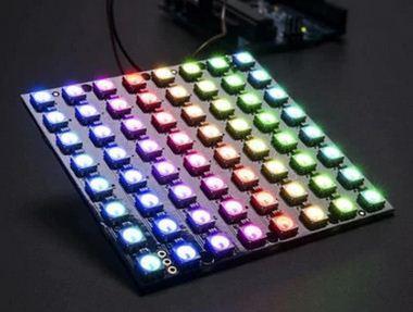 Світлодіодна матриця WS2812 RGB 5050 8*8 для Arduino