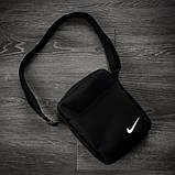 Костюм Футболка Поло електрик - чорна + Шорти + Кепка Чорна. Барсетка у подарунок! Nike (Найк), фото 6
