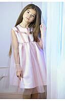 """Нарядное платье для девочки """"розовый лёд"""" 110 PaMaranchi"""