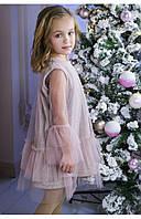 Нарядное платье для девочки сияние 110 PaMaranchi