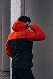 "Демісезонна Куртка ""Temp"" бренду Intruder (помаранчева - чорна), фото 3"