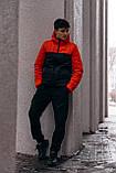 "Демісезонна Куртка ""Temp"" бренду Intruder (помаранчева - чорна), фото 7"