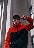 "Демісезонна Куртка ""Temp"" бренду Intruder (помаранчева - чорна), фото 10"