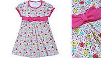Летнее платье для девочек лето 86 Модные детки