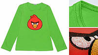 Реглан angry birds (зеленый) 86 Модные детки