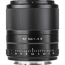 Об'єктив VILTROX 56mm f/1.4 E STM (AF 56/1.4 E) (Sony E-mount) - автофокусный, фото 2