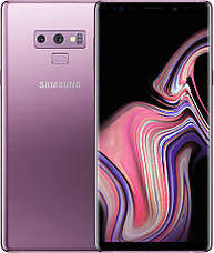 Смартфон Samsung Galaxy Note 9 6/128GB (Black / Blue) SM-N960U 1 sim Qualcomm Snapdragon 845, фото 3