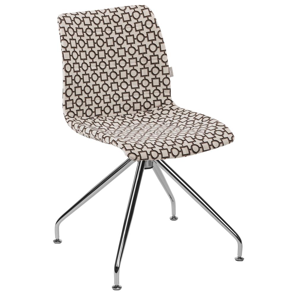 Стул Tilia Lazer-Z сиденье с тканью, ножки металлические ARTCLASS 802