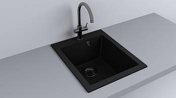 Мойка кухонная Fancy Marble Jersey 410 Черный