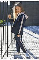 Школьный пиджак с капюшоном для девочки 110 PaMaranchi