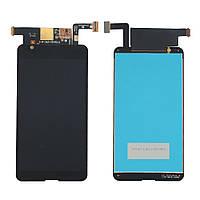 Дисплей Sony E4g, E2003, E2006, E2033 complete with touch Black