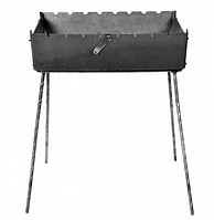 Мангал чемодан на 12 шампуров, толщина металла 2 мм