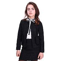 Школьный пиджак в стиле шанель lindsay 30 TIMBO