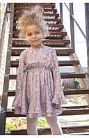 """Детское платье рубашка с резинкой на поясе """"воздушные шары"""" 110 PaMaranchi"""