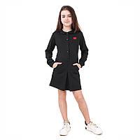 Школьное платье lilu для отличниц (черный) 30 TIMBO