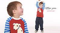 Свитшот с начесом для мальчика 86 Модные детки