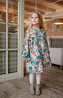 Детское платье с цветочным принтом 110 PaMaranchi