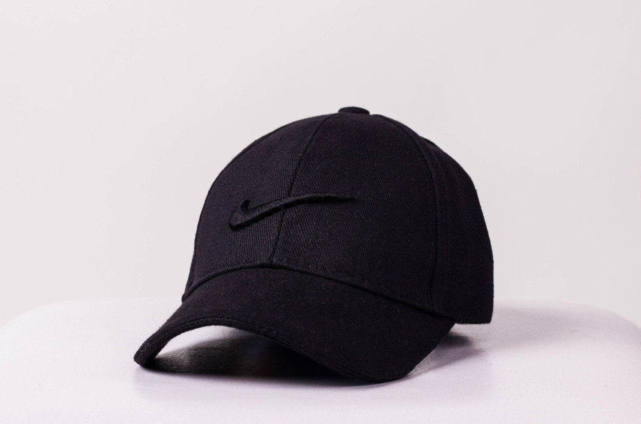 Кепка Nike мужская   женская найк черная черное лого