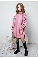 """Детское воздушное платье платье для девочки """"асоль"""" (розовый) 110 PaMaranchi"""