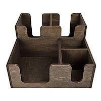 Деревянный барный органайзер Compact (5 отделений)