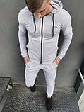 Штаны Спортивные мужские Cosmo Intruder серые трикотажные, фото 2