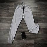 Штаны Спортивные мужские Cosmo Intruder серые трикотажные, фото 9