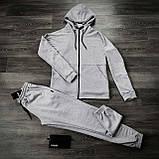 Штаны Спортивные мужские Cosmo Intruder серые трикотажные, фото 10