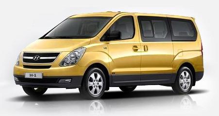 Рейлинги, поперечины Hyundai H1 (2008+)