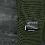 Чоловіча   Жіноча шапка Intruder хакі, зимова bunny logo зелена, фото 3