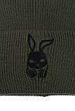 Чоловіча   Жіноча шапка Intruder хакі, зимова bunny logo зелена, фото 8