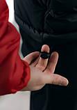 Анорак Nike красный мужской черный теплый ветровка Найк спортивная осенняя весенняя куртка, фото 8