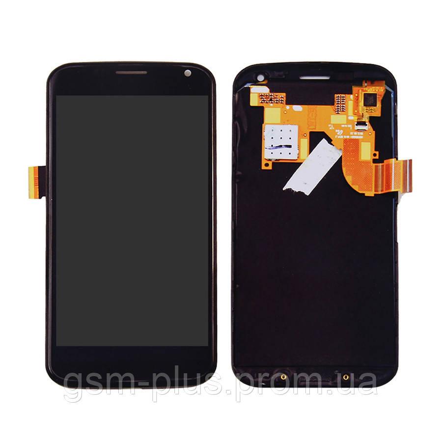 Дисплей Motorola Moto X XT1052, XT1058, XT1060 complete with touch Black