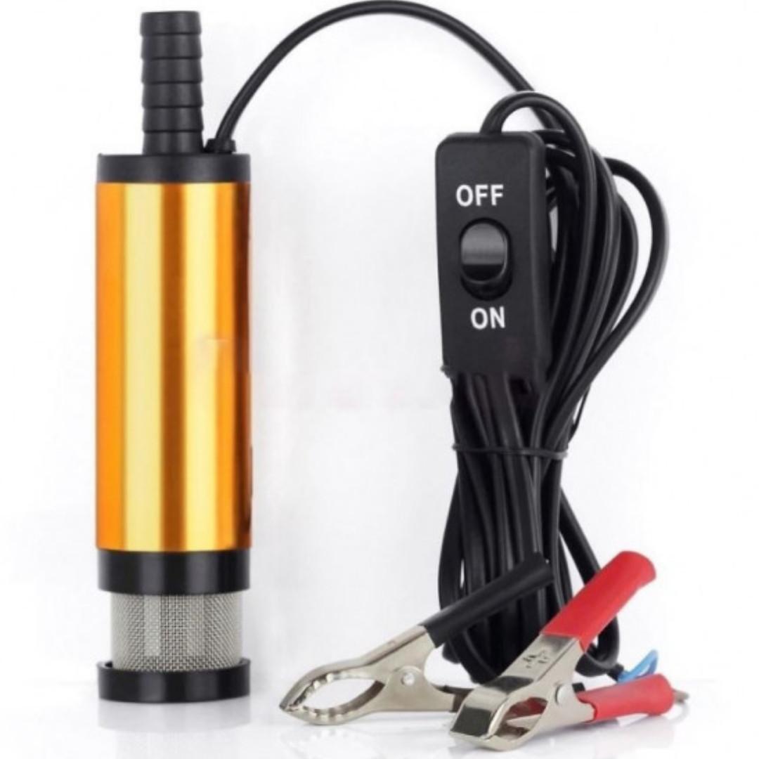 Электрический насос для перекачки дизельного топлива 12v