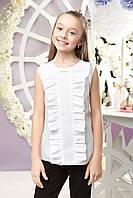 Детская школьная блуза без рукава sh-59 122 Barbarris
