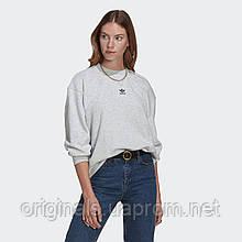 Женский свитшот adidas Originals Loungewear Adicolor Essentials Sweatshirt GN4769 2021