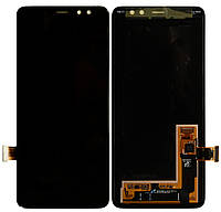 Дисплей Samsung Galaxy A8 SM-A530F (2018) (Service Pack) Black