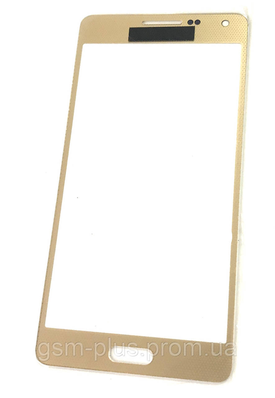 Скло дисплея Samsung Galaxy A5 SM-A500F Gold (для переклеювання)