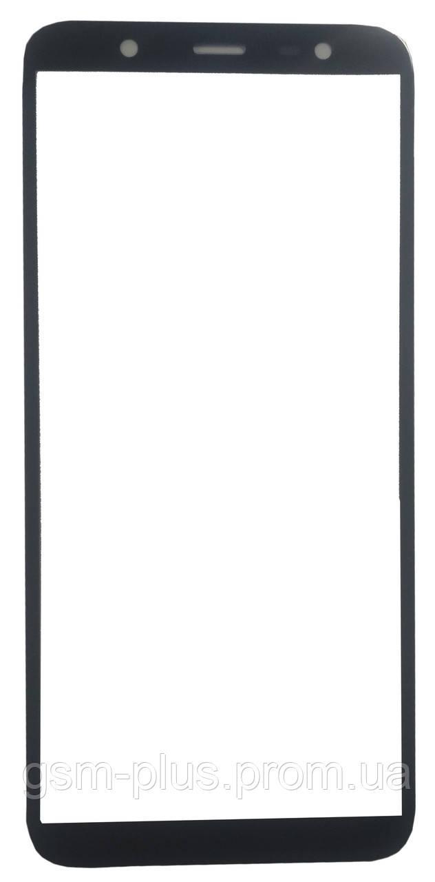 Стекло дисплея Samsung Galaxy J8 (2018) SM-J810 Black (для переклейки)