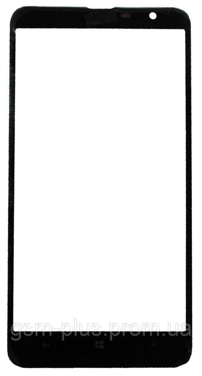 Стекло дисплея Nokia Lumia 1320 Black (для переклейки)
