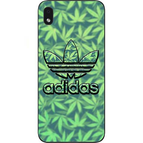 Чехол силиконовый для Samsung A01 Core Galaxy A013F с картинкой Логотип adidas, фото 2