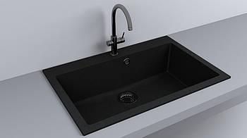 Мойка кухонная Fancy Marble Jersey 760 Черный
