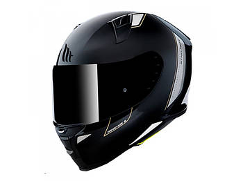 Мотошлем MT Revenge 2 Solid Gloss Black 2XL  Марка Европы