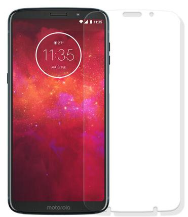 Гідрогелева захисна плівка на Motorola Moto Z3 на весь екран прозора, фото 2