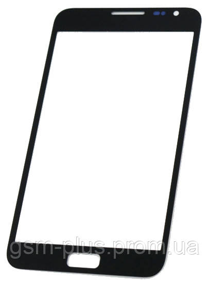 Скло дисплея Samsung Galaxy Note N7000, I9220 Black (для переклеювання)