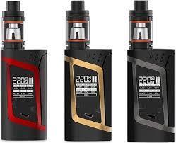 Стартовый набор электронная сигарета Smok Alien 220W Kit Clone и бак TFV8 Baby Tank